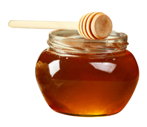 Honungen absorberar toxiner och påskyndar borttransporten av slaggprodukter.