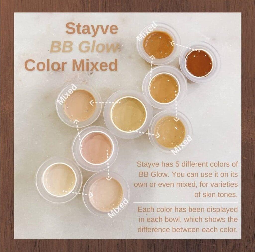 BB glow För hud med pigmentering eller fräknar, hud med akne, åldersfläckar